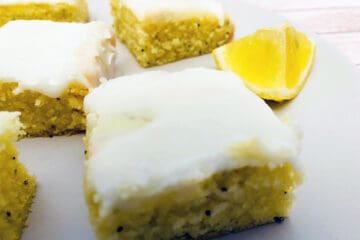 lemon poppyseed bars