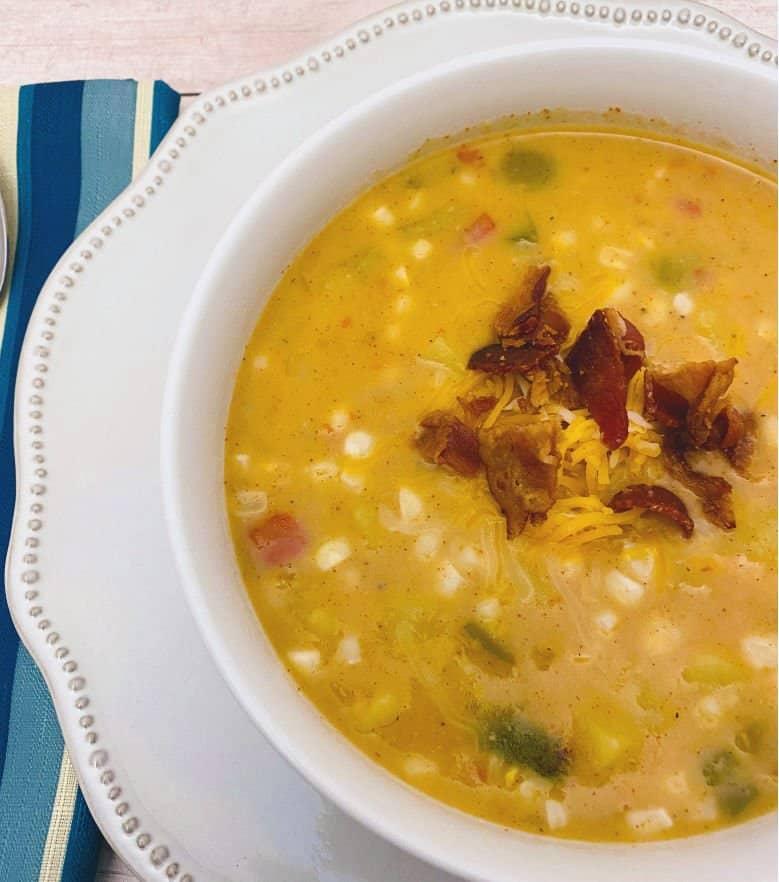 southwest corn and potato chowder