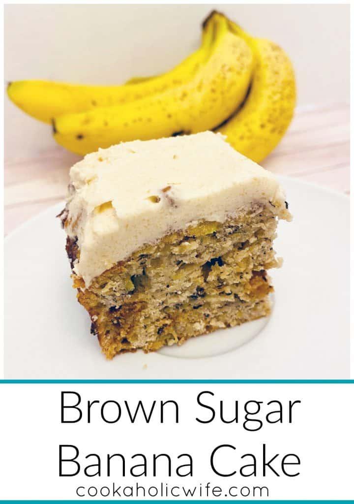 brown sugar banana cake