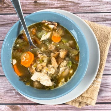 leftover turkey dumpling soup - how to use thanksgiving leftovers to make soup