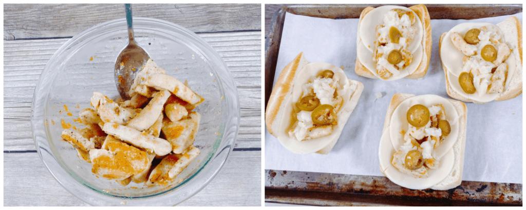 Mango Habanero Chicken Sandwich