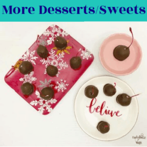 More Desserts and Sweets